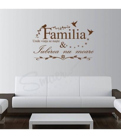 Sticker Familia