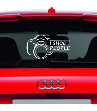 Sticker I Shoot People