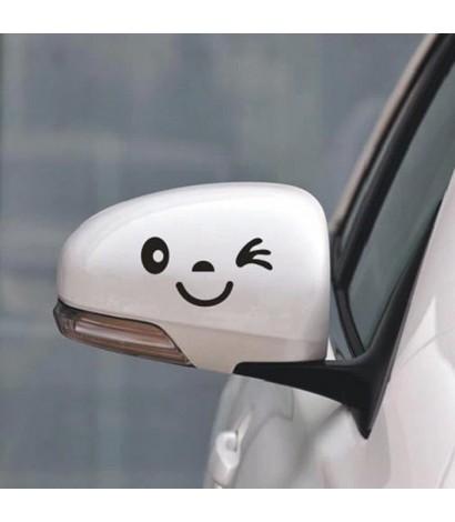 Set Sticker Auto Wink Ochi