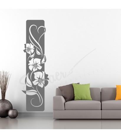 Sticker Elegant Love Flower