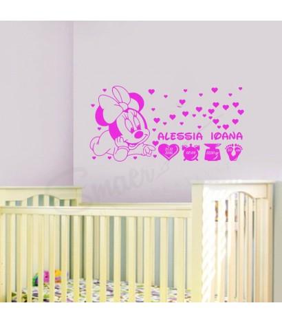 Sticker Minnie Baby