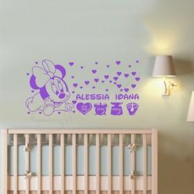 Sticker Ceas - Familia