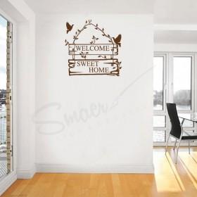 Sticker Copac cu Frunze