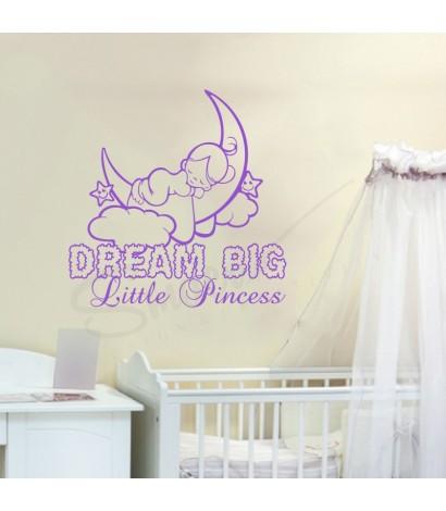 Sticker Dream Big Little Princess