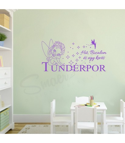 Sticker Tündérpor